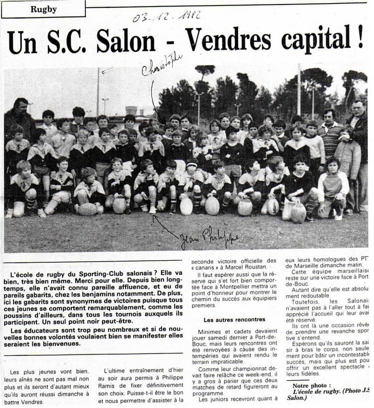 Photo de classe sporting club de 1982 for Sporting club salonais