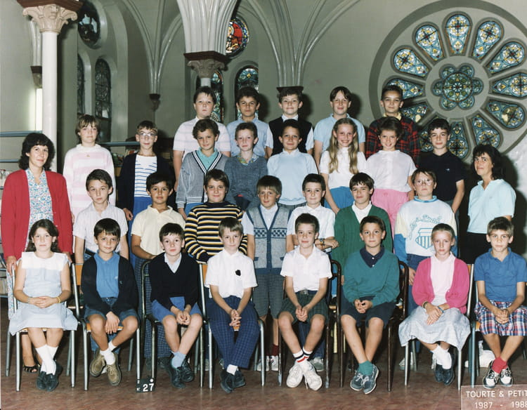 Photo de classe 1987 1988 de 1987 ecole saint joseph - Cours de cuisine arras ...