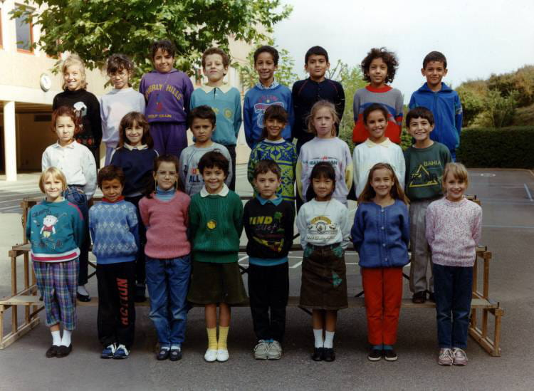 photo de classe ce 2 de 1988 ecole jacques prevert villefranche sur saone copains d 39 avant. Black Bedroom Furniture Sets. Home Design Ideas