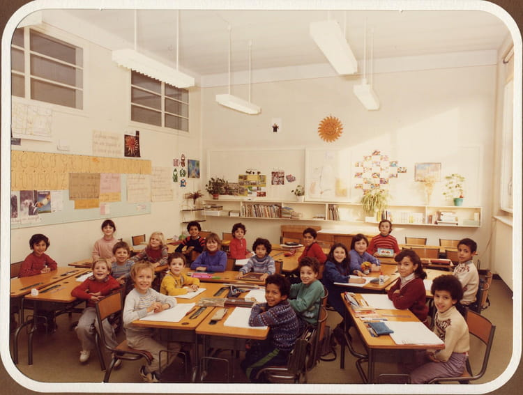 photo de classe ce2 de 1983 ecole ferdinand buisson villefranche sur saone copains d 39 avant. Black Bedroom Furniture Sets. Home Design Ideas