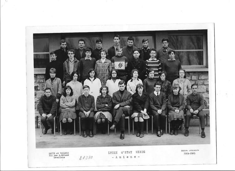 photo de classe 2 me m de 1964 lyc e louis thuillier copains d 39 avant. Black Bedroom Furniture Sets. Home Design Ideas