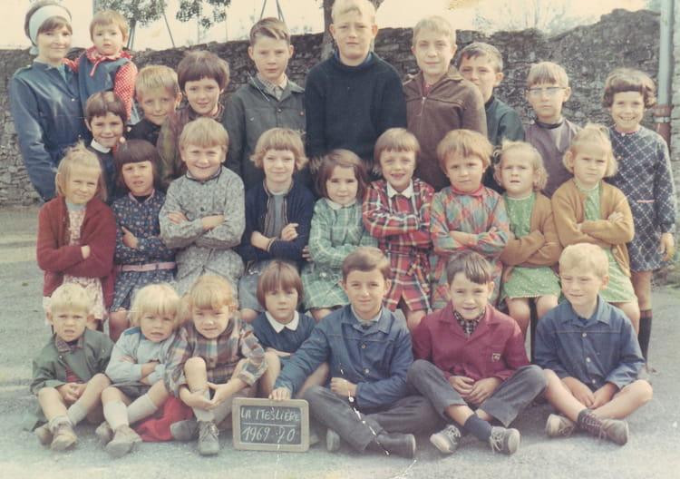 Photo De Classe La Mesliere Pannece De 1970 Ecole Jules Ferry