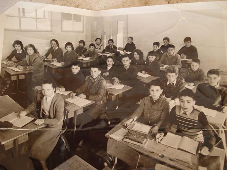 photo de classe 5eme de 1958 coll ge andr chamson copains d 39 avant. Black Bedroom Furniture Sets. Home Design Ideas