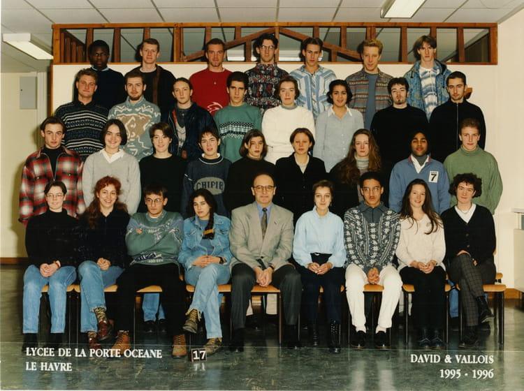 photo de classe ts 2 de 1996 lyc 233 e porte oc 233 ane copains d avant