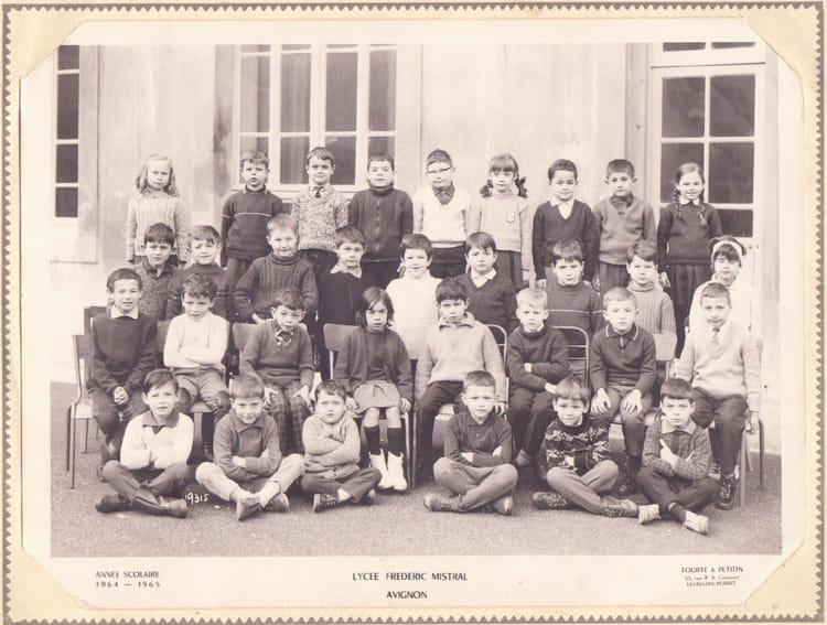 Photo de classe frederic mistral avignon de 1964 ecole - Ecole de decoration avignon ...