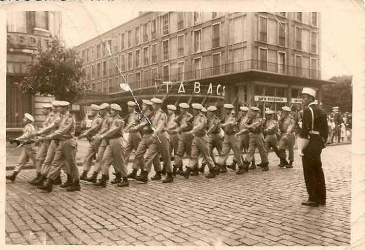 Photo De Classe Defile Du 14 Juillet Au Havre De 1967 74 Ri