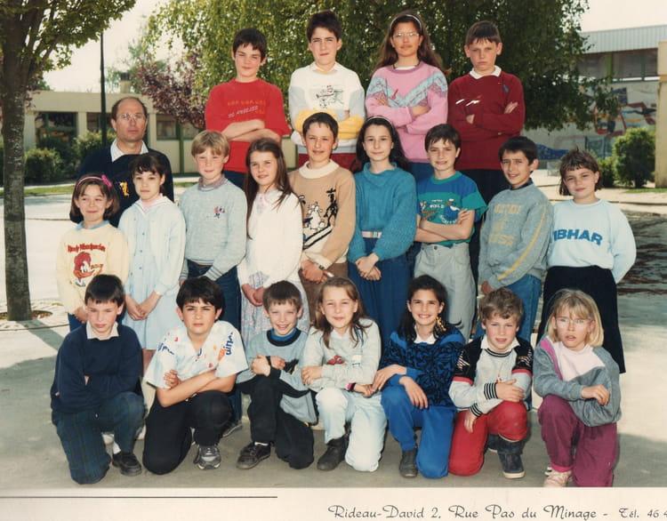Photo de classe cm1 de 1986 ecole laennec la roche sur - Cours cuisine la roche sur yon ...