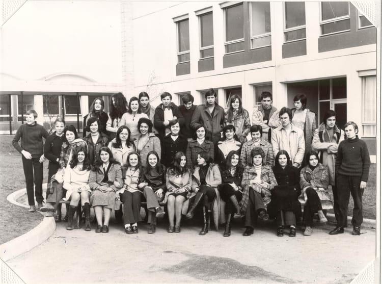 photo de classe classe de seconde lyc 233 e de chelles de 1971 lyc 233 e gaston bachelard copains d