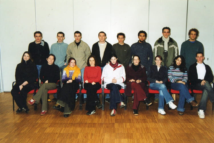 Photo de classe terminale bts de 2003 lyc e l onard de - Lycee leonard de vinci montpellier ...