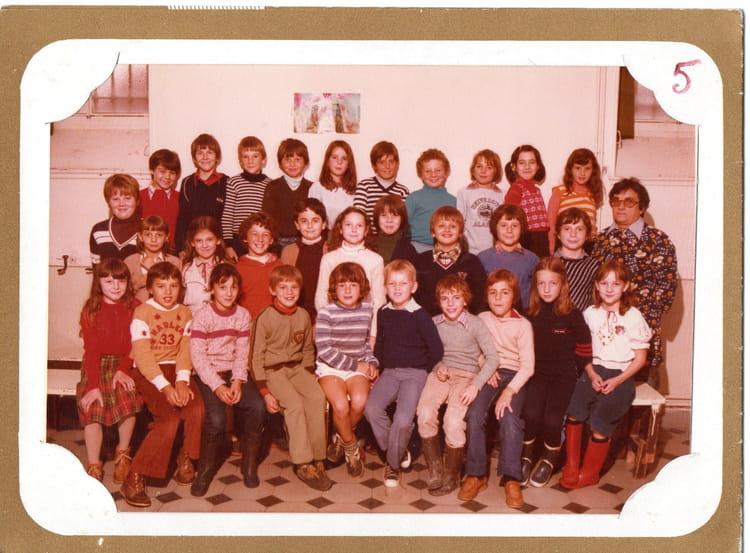 photo de classe ecole st francois de salle de 1980 ecole jean baptiste de la salle