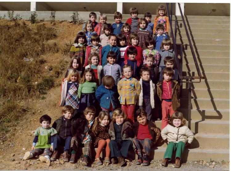 photo de classe classe maternelle de 1975 ecole primaire arthez de bearn copains d 39 avant. Black Bedroom Furniture Sets. Home Design Ideas