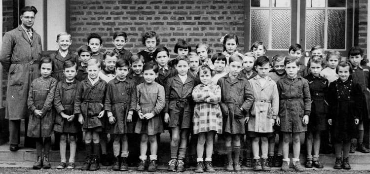 Photo De Classe Ecole Des Garcons De 1953 Ecole Pierre Dupont