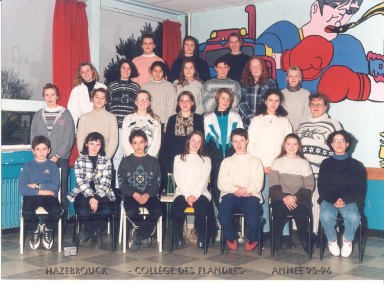 photo de classe 4eme5 de 1996 coll ge des flandres. Black Bedroom Furniture Sets. Home Design Ideas