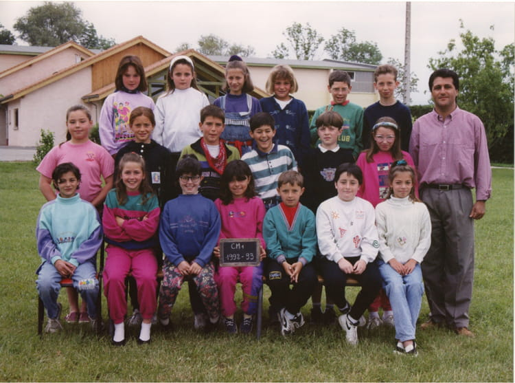 photo de classe cm1 de 1992 ecole les grieux saint paul les romans copains d 39 avant. Black Bedroom Furniture Sets. Home Design Ideas