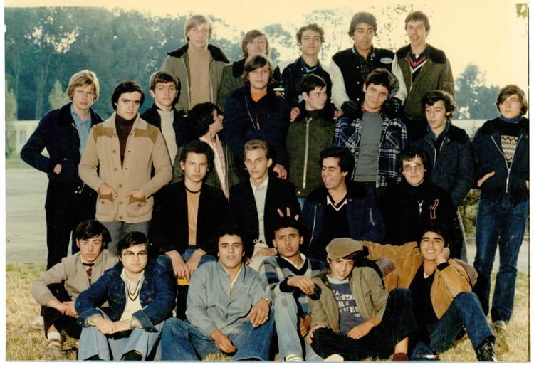 Cote De Villebon photo de classe 3éme a1 de 1978, les côte de villebon - copains d'avant