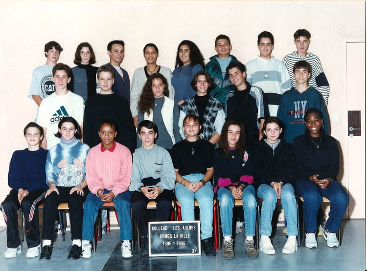 photo de classe 3em7 de 1995 coll ge les aulnes copains d 39 avant. Black Bedroom Furniture Sets. Home Design Ideas
