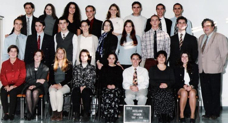 Photo de classe bts 1 de 1997 ecole h teli re d 39 avignon - Ecole de decoration avignon ...