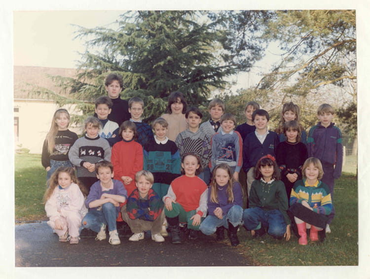 photo de classe ce1 ce2 de 1991 ecole du rosey fontaine sous jouy copains d 39 avant. Black Bedroom Furniture Sets. Home Design Ideas