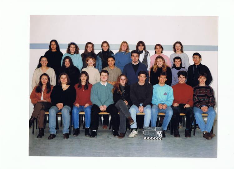 Photo de classe terminale b1 1993 1994 lyc e l onard de - Piscine de saint michel sur orge ...