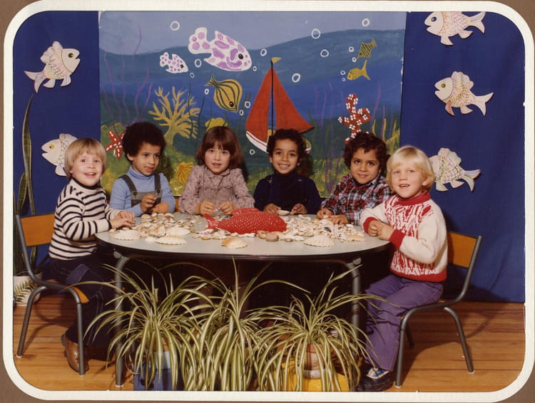 photo de classe maternelle 2 de 1980 ecole ferdinand buisson villefranche sur saone copains. Black Bedroom Furniture Sets. Home Design Ideas