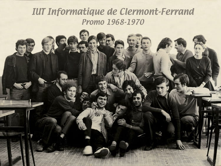 photo de classe la 1 re promotion de 1968 iut informatique copains d 39 avant. Black Bedroom Furniture Sets. Home Design Ideas
