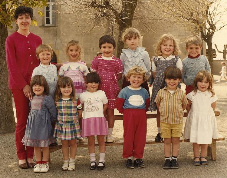 Photo De Classe Grande Maternelle De 1984 Ecole Rue Bel Air Saint