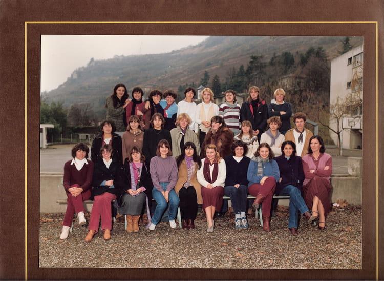 Photo de classe TG 1 1981 de 1981, Itecboisfleury  ~ Itec Bois Fleury