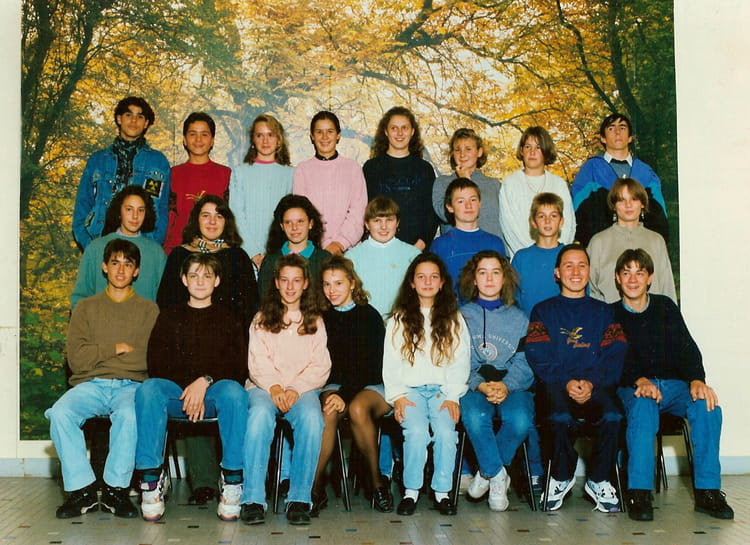 photo de classe 4eme de 1992 lyc e professionnel de couasnon copains d 39 avant. Black Bedroom Furniture Sets. Home Design Ideas