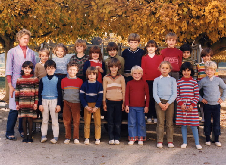 Photo de classe classe de ce 1 de 1982 ecole paul bert - Cours de cuisine yonne ...
