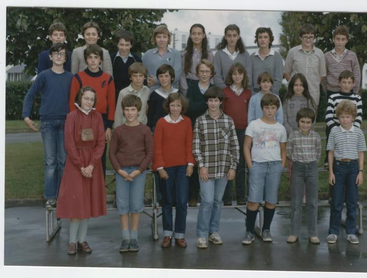 Photo de classe coll ge charles de gaulle 5 me 7 1980 1981 - College charles de gaulle guilherand granges ...