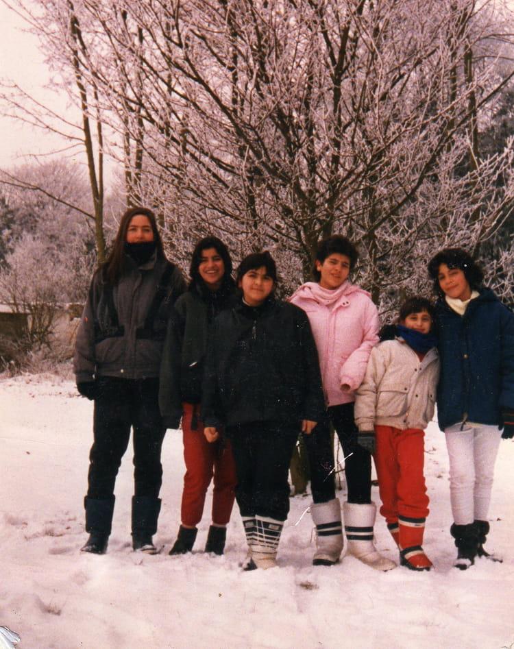 Photo de classe photos au rattrapage enneiger de 1989 for Association maison