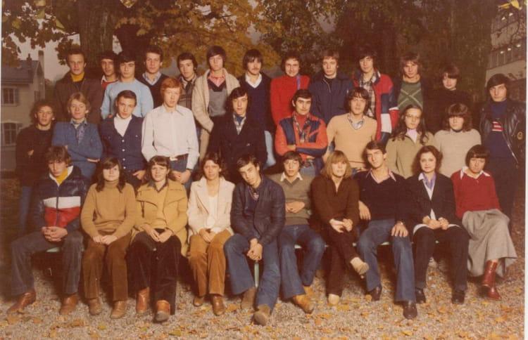 Photo de classe 1ere G3 de 1978, Itecboisfleury  Copains  ~ Itec Bois Fleury