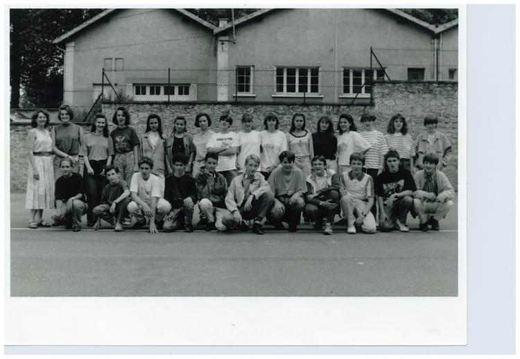 Photo de classe 4 me a de 1989 coll ge du jardin des plantes copains d 39 avant - College du jardin des plantes ...