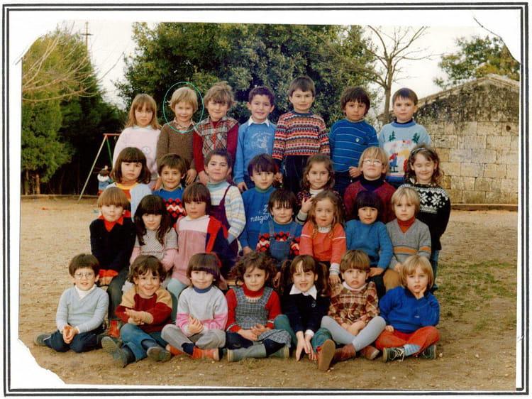 photo de classe maternelle de 1985 ecole primaire saint germain du puch copains d 39 avant. Black Bedroom Furniture Sets. Home Design Ideas