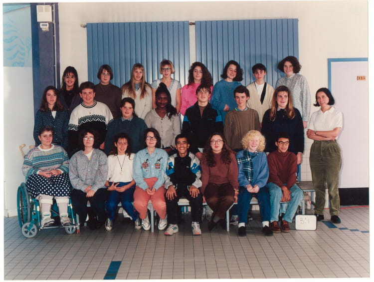 Photo de classe 3 eme t de 1994, Collège Du Bois Daulne