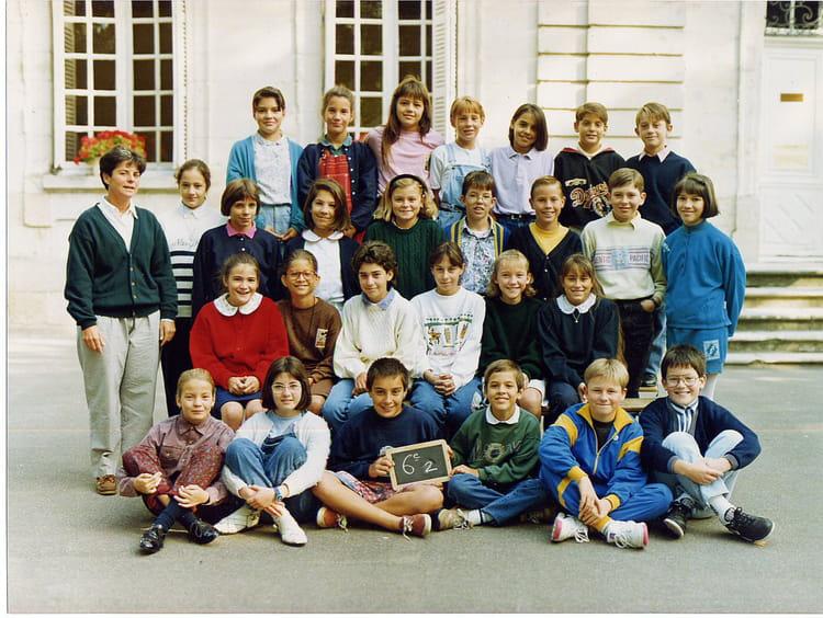 Photo de classe 6eme2 1992-93 de 1992, Collège Christ-roi Notre-dame ...