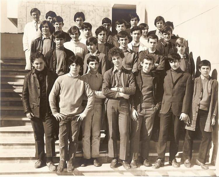 Photo de classe 2 me t de 1969 lyc e professionnel adam - Lycee craponne salon ...