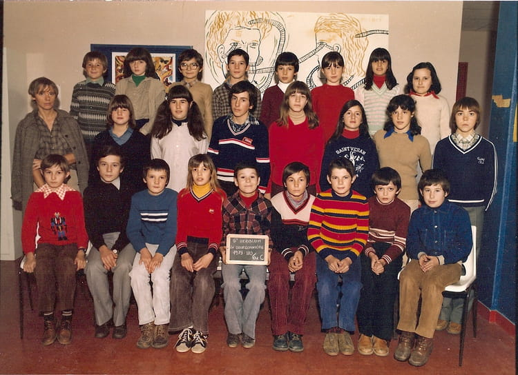 Photo de classe 6i me c st herblain 1979 80 de 1980 for Garage st herblain bourg