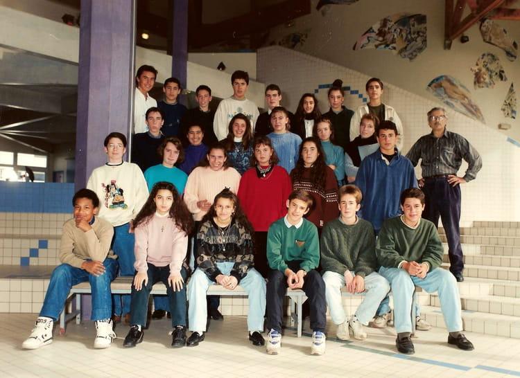 Photo de classe 3ème8 de 1992, Collège Du Bois Daulne