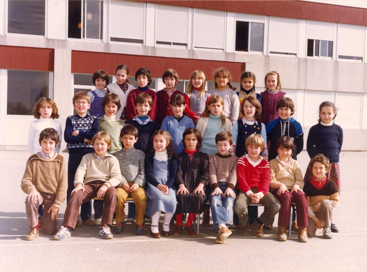 photo de classe classe de ce2 mme caubet de 1980 ecole primaire labarthe sur leze copains d. Black Bedroom Furniture Sets. Home Design Ideas