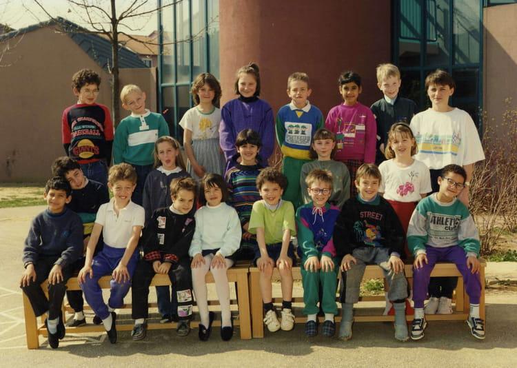 Photo de classe 1989 ce1 de 1989 ecole buisson rond for Piscine de buisson rond