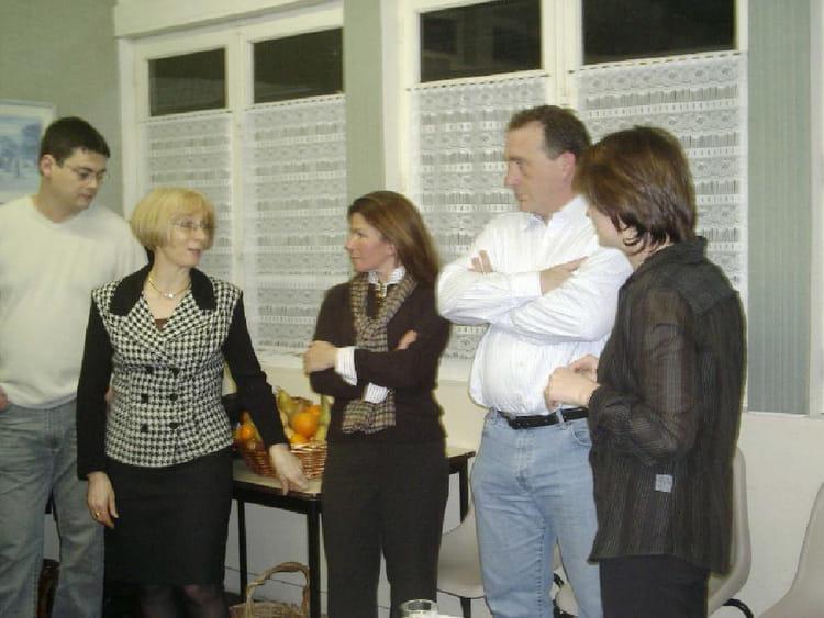 Photo de classe repas avec qques amis de 2005 sca hygiene for Repas avec des amis
