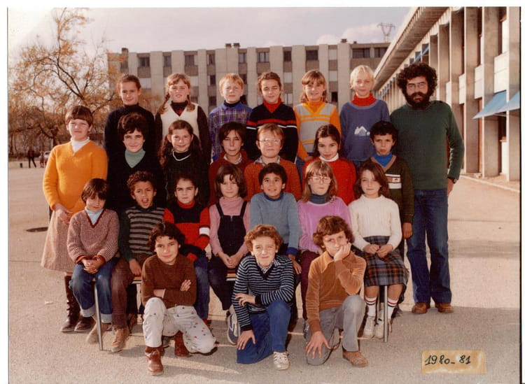 photo de classe ce 2 de 1980 ecole pracomtal montelimar copains d 39 avant. Black Bedroom Furniture Sets. Home Design Ideas