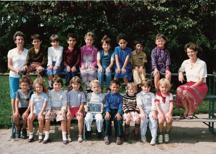 Photo de classe cp viala de 1982 ecole viala copains d 39 avant - Lycee viala lacoste salon de provence ...