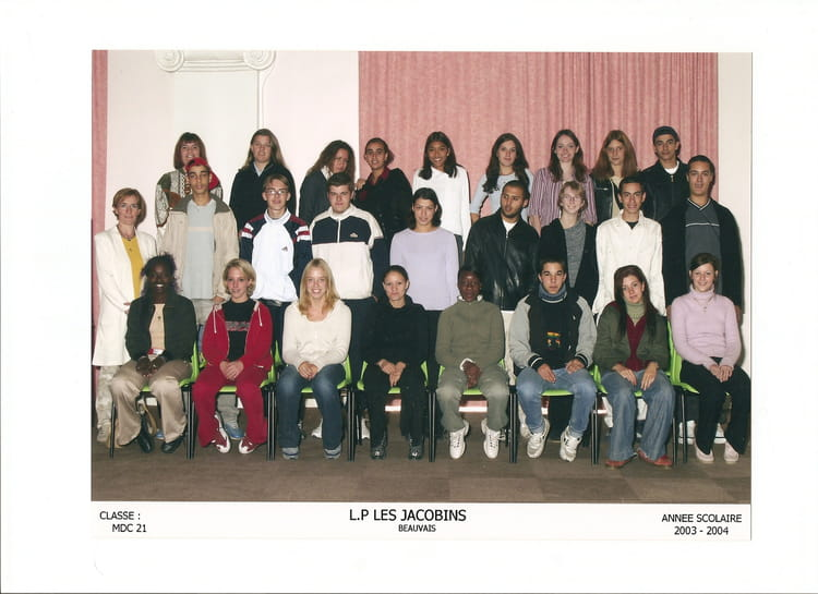 Photo de classe mdc21 de 2003 greta lycee jacobins - Lycee jacobins beauvais portes ouvertes ...