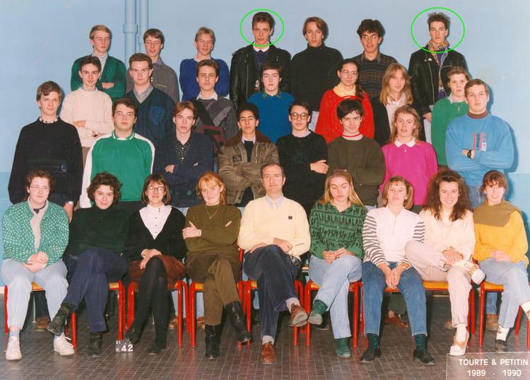 Photo De Classe Terminale C De 1990 Lycee Dupleix Copains D Avant
