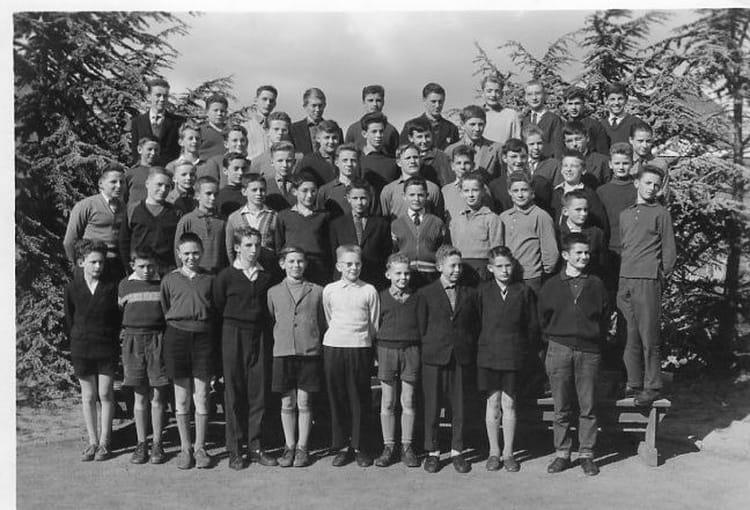 photo de classe 4 232 me 1958 1959 de 1959 college de la salle copains d avant