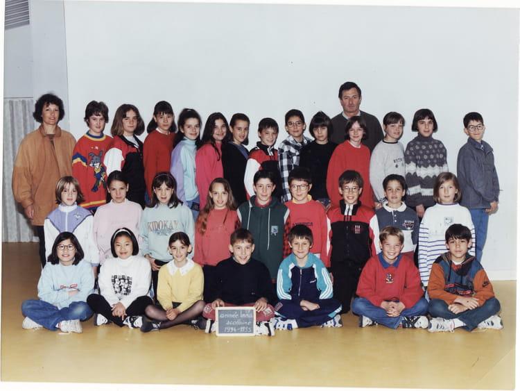 Photo de classe cm 2 de 1996 ecole application moulin - Cours cuisine la roche sur yon ...