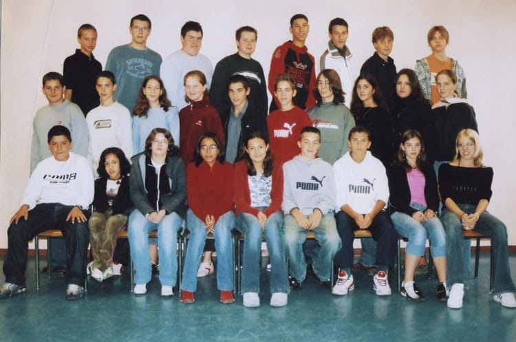 Photo de classe 3eme 3 de 2005 coll ge bernard de for Pronote college jean moulin salon
