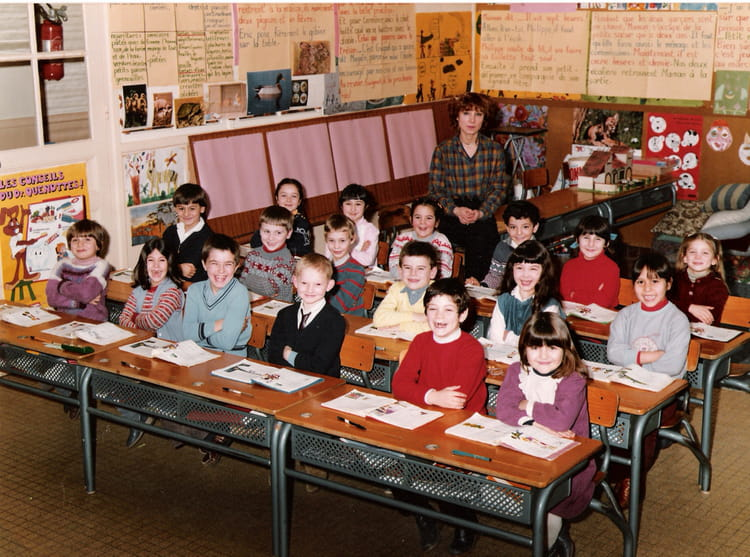 photo de classe 1982 83 cp mme duneton jules ferry 2. Black Bedroom Furniture Sets. Home Design Ideas